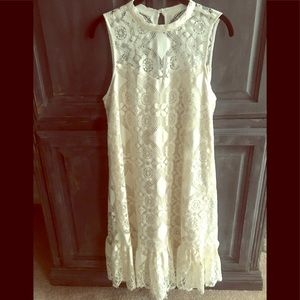 ❤️ NWT GORGEOUS ❤️ Anthropologie lace dress size 8
